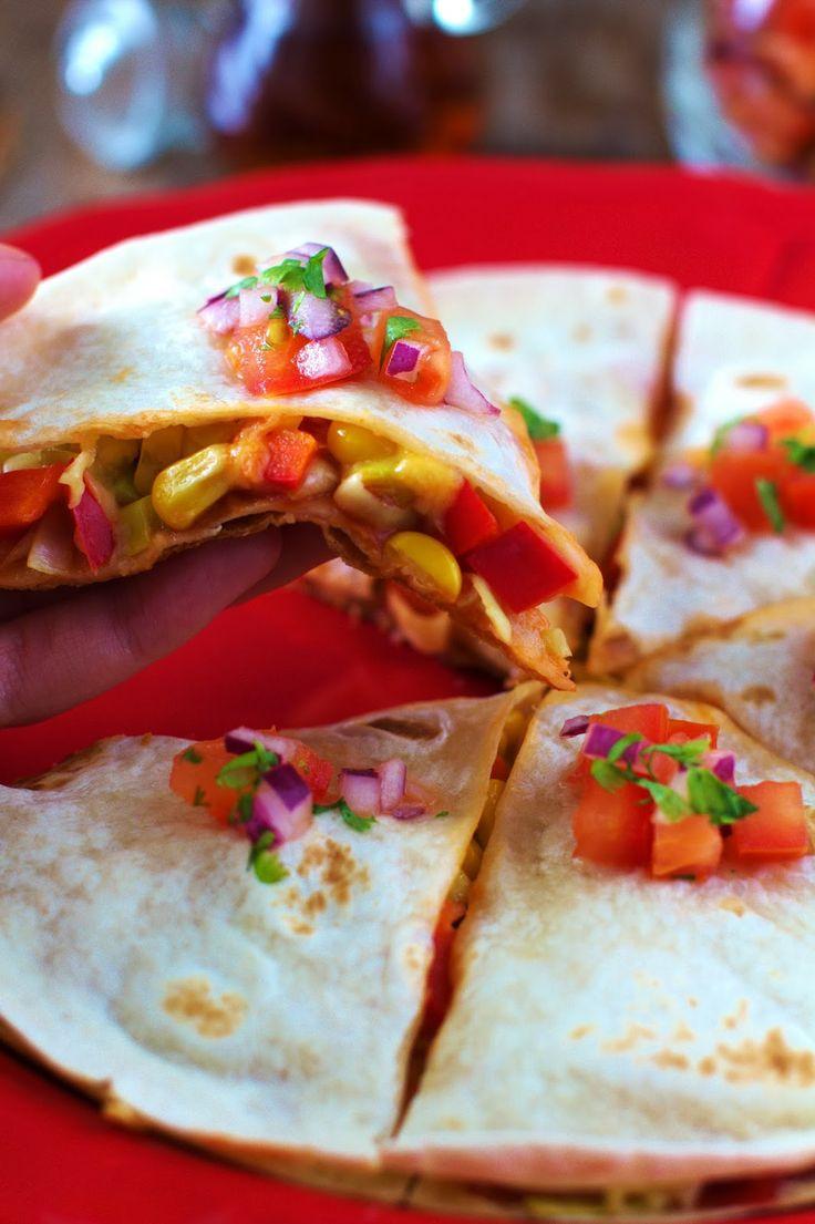Just My Delicious: Quesadilla z Serem i Warzywami