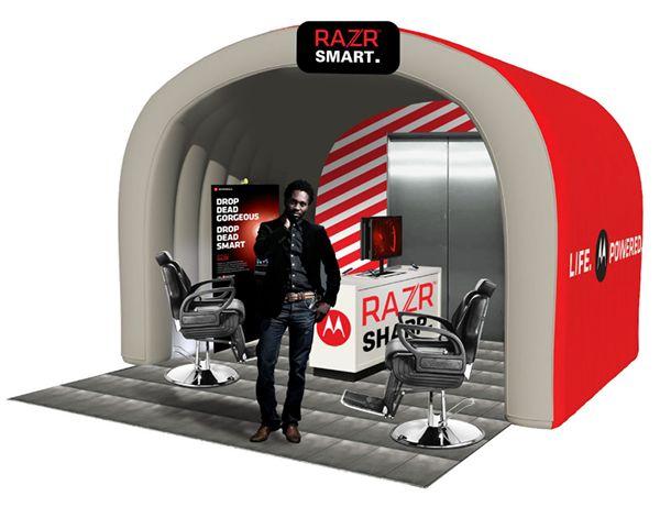 The Mobile Barbershop.