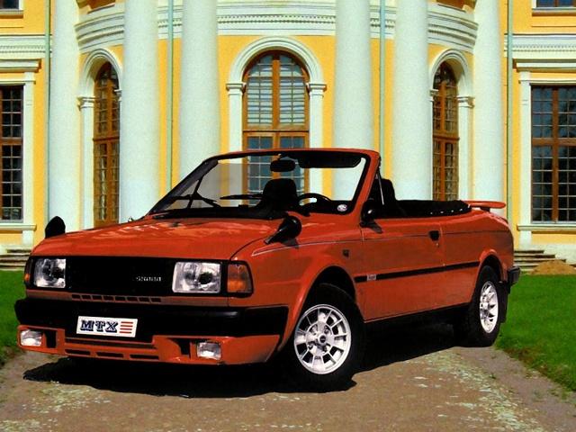 Škoda Rapid Cabriolet MTX