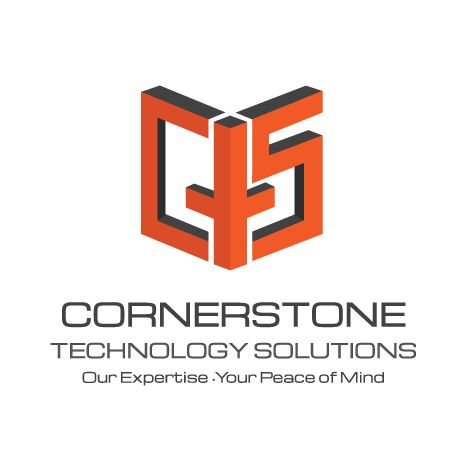 Cornerstone Technology Solutions Logo created by Titan Web Marketing Solutions. Visit us at titanwms.com.