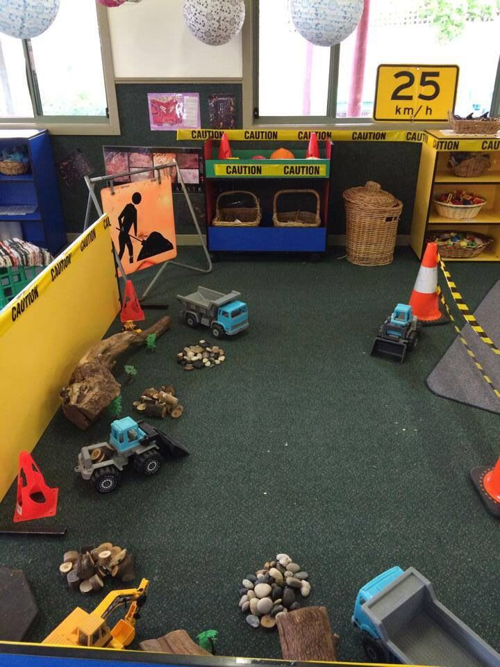Milestone Childcare & Kindergarten's building and constructing play area
