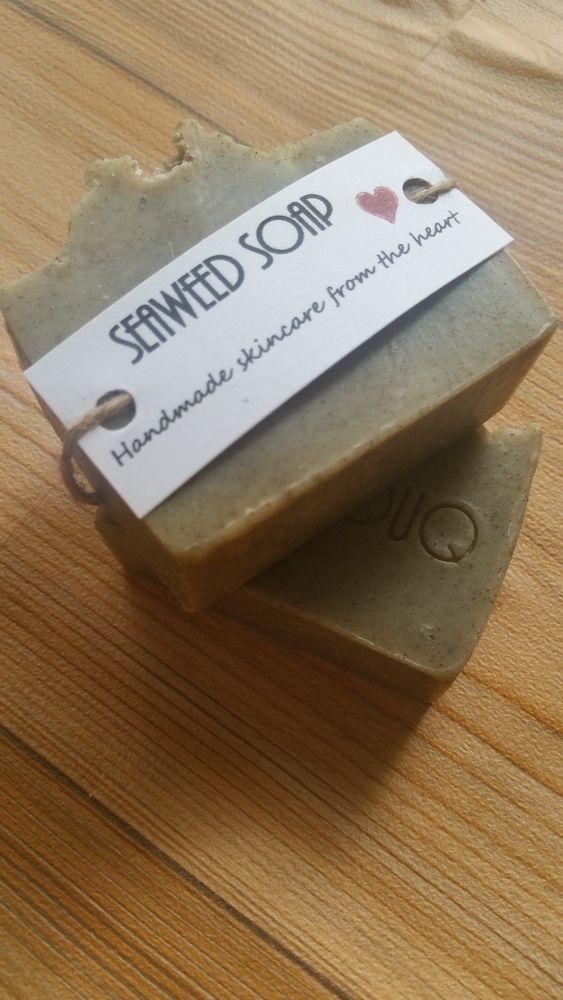 Seaweed soap  £4.00