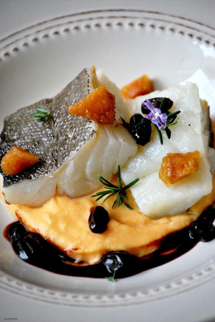 CHEZ SILVIA: Bacalao confitado con crema de boniato, membrillo y reducción de oporto {Ideas Navidad}