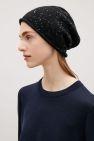 Speckled cashmere hat - Black - Hats, Scarves & Gloves - COS IT