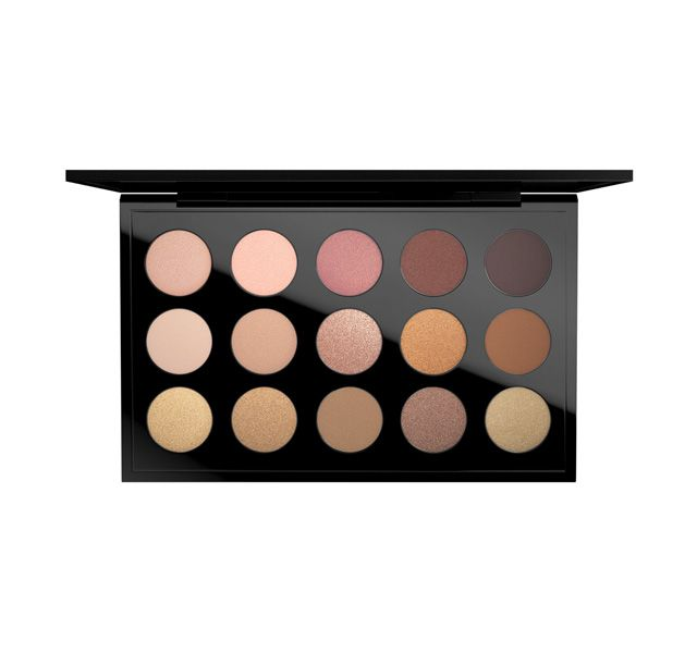 MAC Eyeshadow x 15 Warm-Neutral Palette