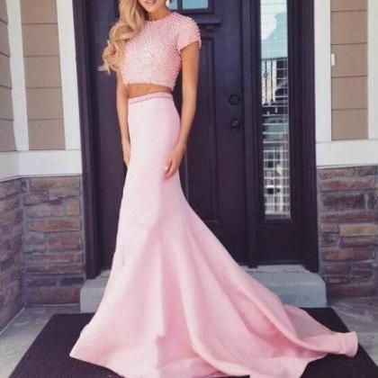 Real Made Pink Floor-Length..
