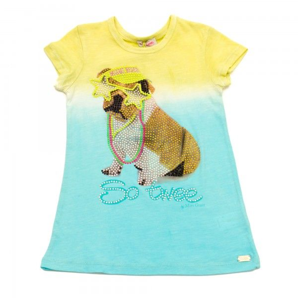 So twee by Miss grant T-Shirt con strass