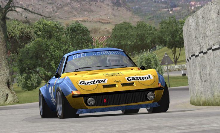 Opel GT Targa Florio racer