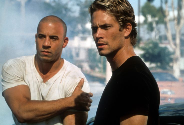 Vin Diesel and Paul Walker in a scene from the film 'The Fast And The Furious', 2001. (Photo by Universal/Getty Images) via @AOL_Lifestyle Read more: http://www.aol.com/article/2016/06/03/paul-walkers-daughter-meadow-shares-a-rare-photo-and-looks-s/21389269/?a_dgi=aolshare_pinterest#fullscreen