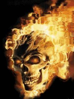 Ghost Rider 2 Skull Wallpaper Download
