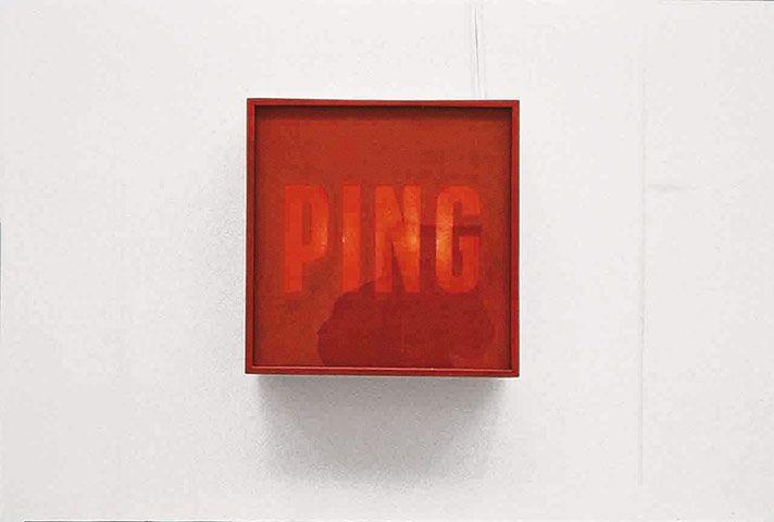 Alighiero Boetti, Ping Pong (1966)