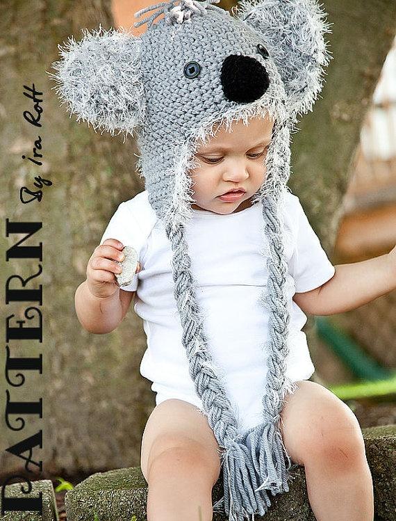 Crochet Animal Hats & Patterns by IraRott Inc.