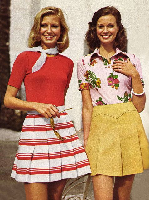 1973 fashion. I swear I'd wear that now!                                                                                                                                                                                 More