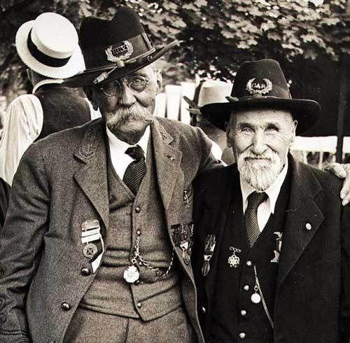 75th Anniversary Battle of Gettysburg. credit | gettysburg daily