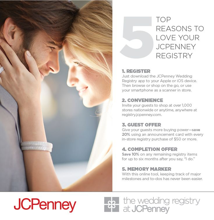 153 best wedding registry must haves images on pinterest wedding the jcpenney wedding registry offers junglespirit Choice Image