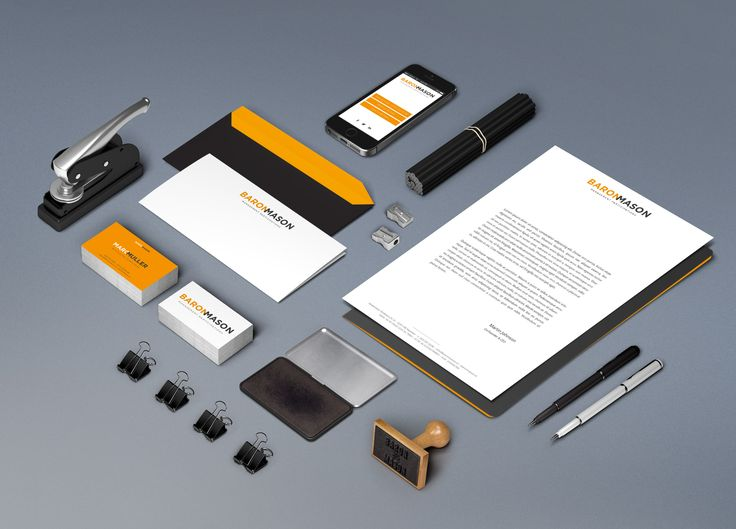 Baron Mason stationery