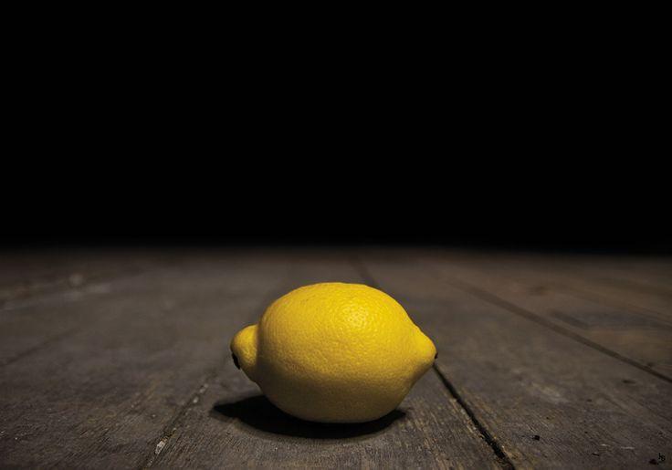 Citron Portræt i Rå Omgivelser