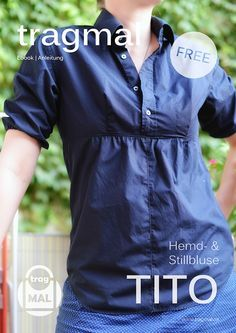 Tutorial – Aus Hemd wird Bluse bzw. Stillbluse / Stilloberteil  