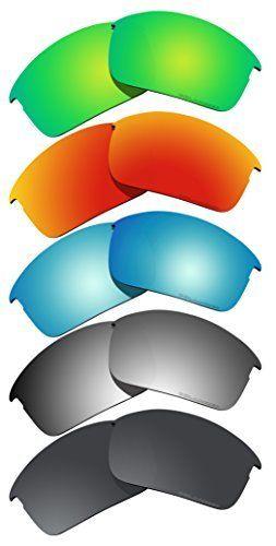 5 Pairs BVANQ Polarized Lenses Replacement for Oakley Bottle Rocket Sunglasses