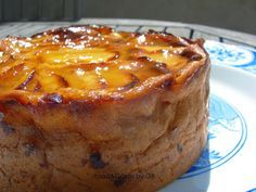 FOOD & CAKES: Tarta flan de manzana (Thermomix) ༺✿ƬⱤღ https://www.pinterest.com/teretegui/✿༻