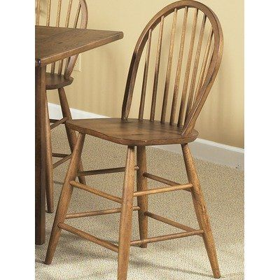 Farmhouse Casual Dining Counter Height Chair in Weathered Oak by Liberty. $106.74. Counter height chair. Warranty: One year. Nylon chair glides. Set of 2. Weathered rustic surface. 139-B100024 Features: -Counter height chair.-Windsor back.-Weathered rustic surface.-Nylon chair glides. Color/Finish: -Weathered oak finish. Warranty: -Manufacturer provides one year warranty.. Save 74%!