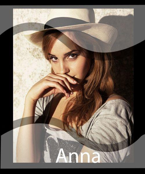 Anna es  una  chica  muy   dulce,  alegre  y   con  mucha  imaginación.  Está  muy   enamorada  de  su   novio   Darien  y  su  ambición  en  la  vida  es  ser  una  gran  actriz