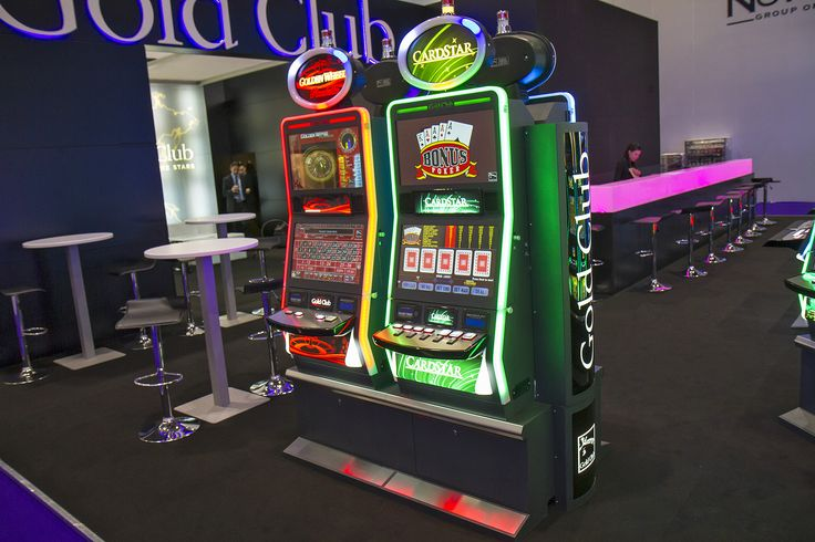 slot machine stand and cabinet
