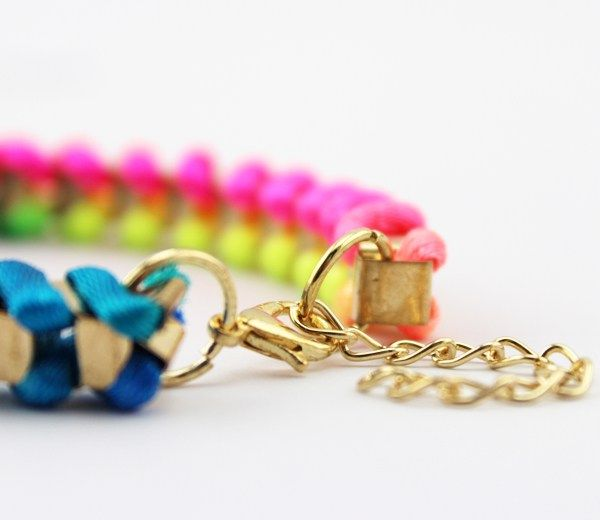 Color Chain armband www.babybey.nl