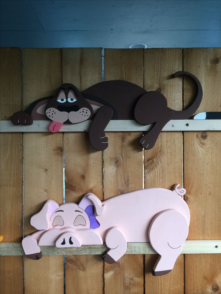 New hound dog & new pig rail pets