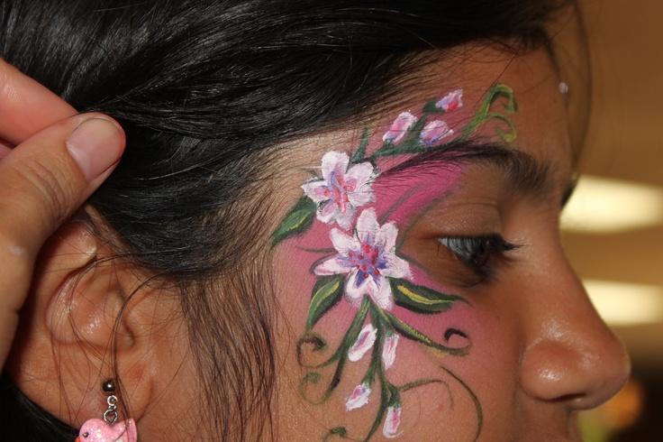 Painting Eyelids Turning White