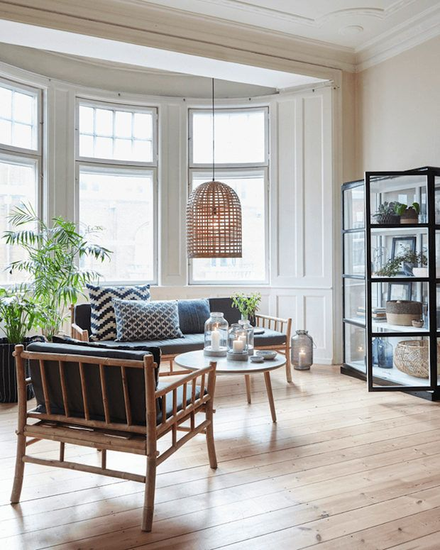 my scandinavian home: A light and airy Danish home inspiration with natural touches