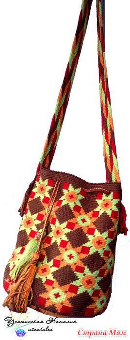 Мочила с плетеным ремнем - Вязание - Страна Мам