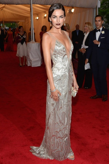Camille Belle in Ralph Laure at the Met Gala 2012