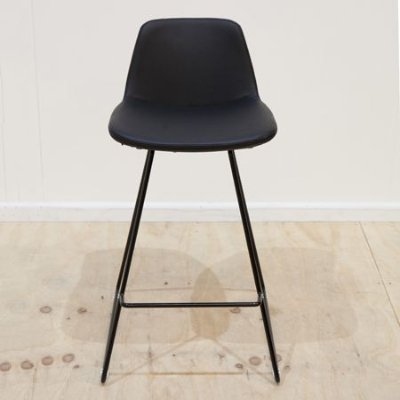 Parker Counter Stool Leatherette - Powdercoated (Colours)