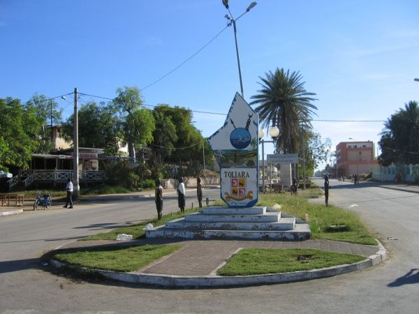 Main street in Tulear, a town on the southwest coast of Madagascar http://madacamp.com/Tulear