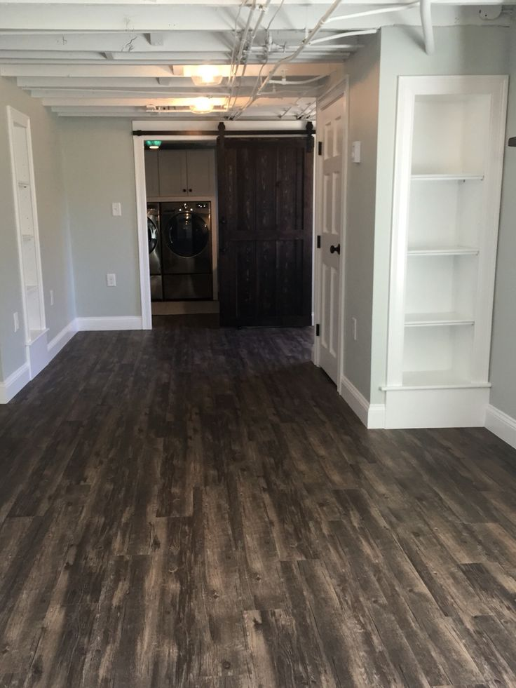 After Shaw Classico Vinyl Plank Floor Antico Artisan Hardware Barn Door Luxury
