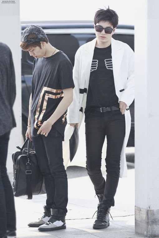 Sungjong Airport Fashion 150509 Infinite Pinterest Fashion Airports And Airport Fashion