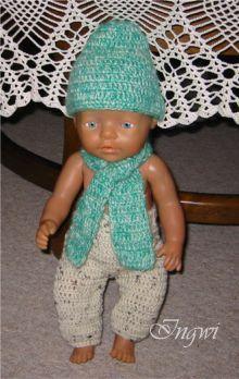 Mütze Und Schal Für Baby Born Creadoocom Puppenkleidung