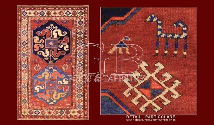 Antique Kazak rug 141405346952