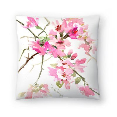 Chiffon Flower Cushion Cover Light Pink Home All H M Gb Light Pink Pillows Rose Gold Room Decor Cushion Cover