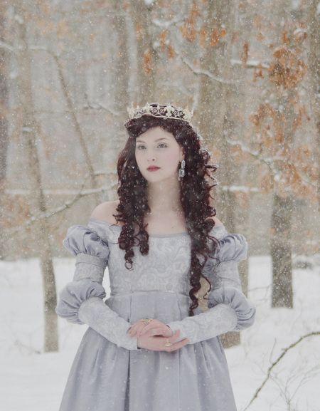 Silvery Blue Dress, Photos   Angela Clayton's Costumery & Creations