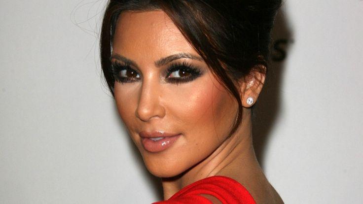 Kim Kardashian Didn't Always Look Like This. Non-blonde L.A. party girl. #KimKardashian