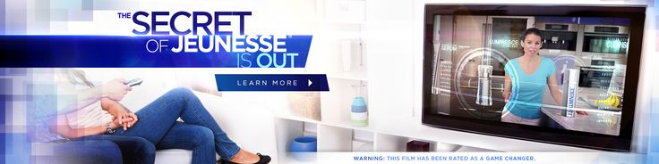 The Secret of Jeunesse is Out...  http://www.seeliveresults.info