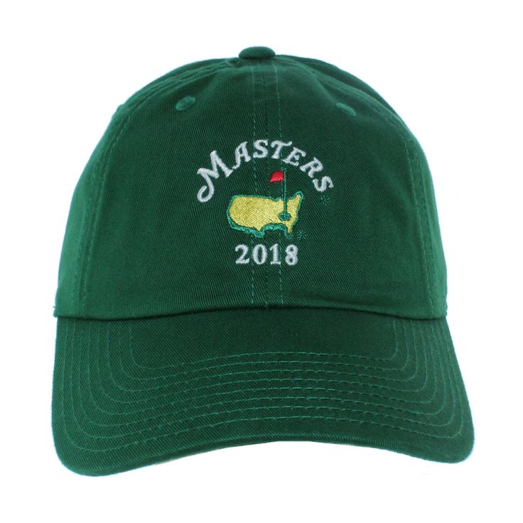 2018 Masters Green Caddy Slouch Hats are the newest