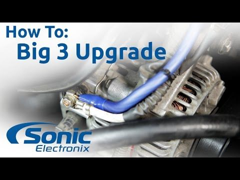 Sensational How To Install The Big 3 Upgrade Improve Your Vehicles Electrical Wiring Digital Resources Sapredefiancerspsorg