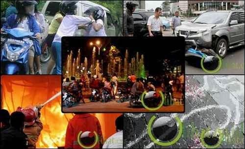 7 Peristiwa di Jalanan yang menjadi Tontonan Masyarakat
