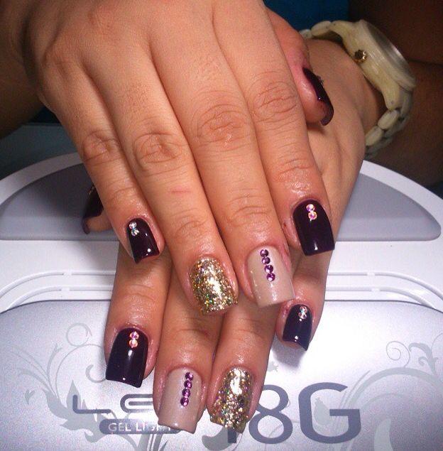 gelish diseo art love nails uas gel perfect