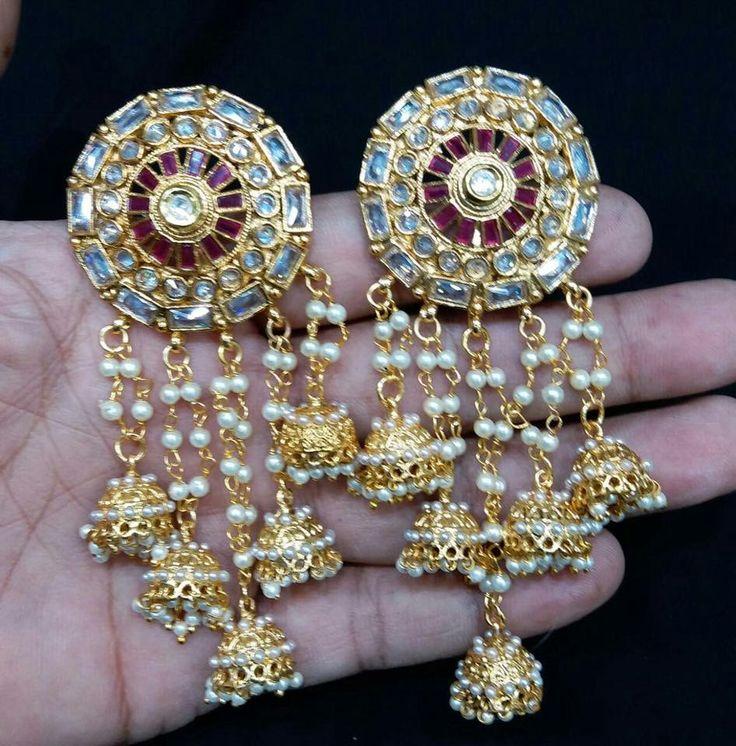 Beautiful Kashmiri earrings