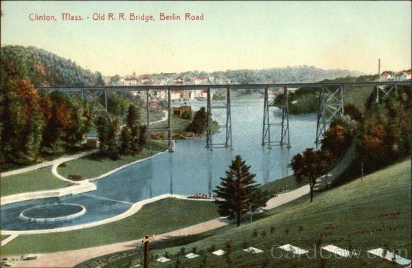 Old Railroad Bridge, Berlin Road Clinton, MA