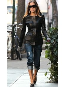 Level 99 Relaxed Lily Carpenter Jean in Nolan as Seen On Sarah Jessica Parker